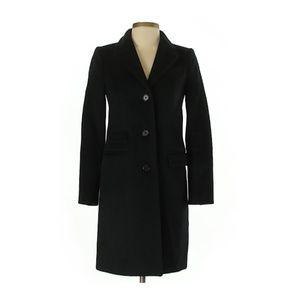 J. Crew Jackets & Coats - J. Crew, 00 Black Wool Top Coat